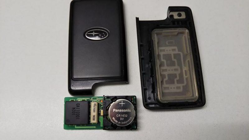 スマートキーの電池