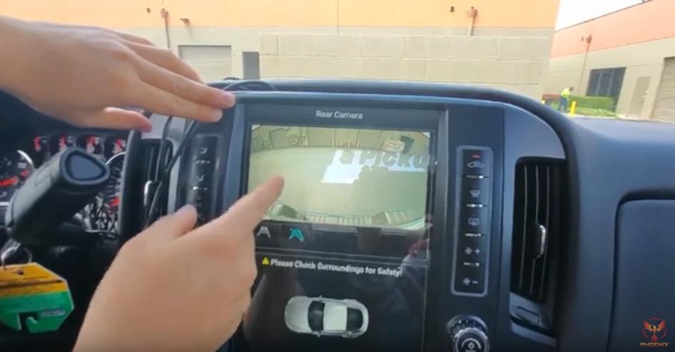 シルバラード テスラナビ取付け動画説明