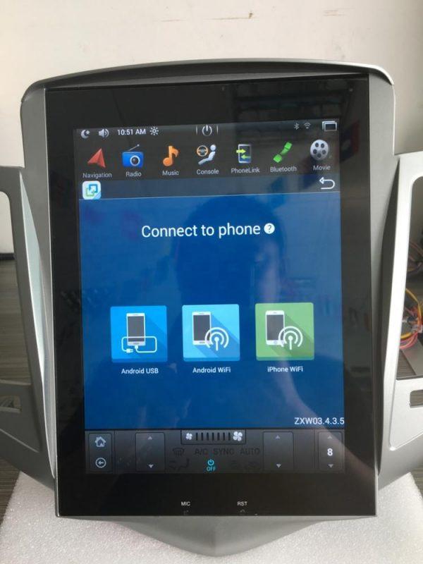シボレークルーズ テスラナビ Wi-Fi接続画面