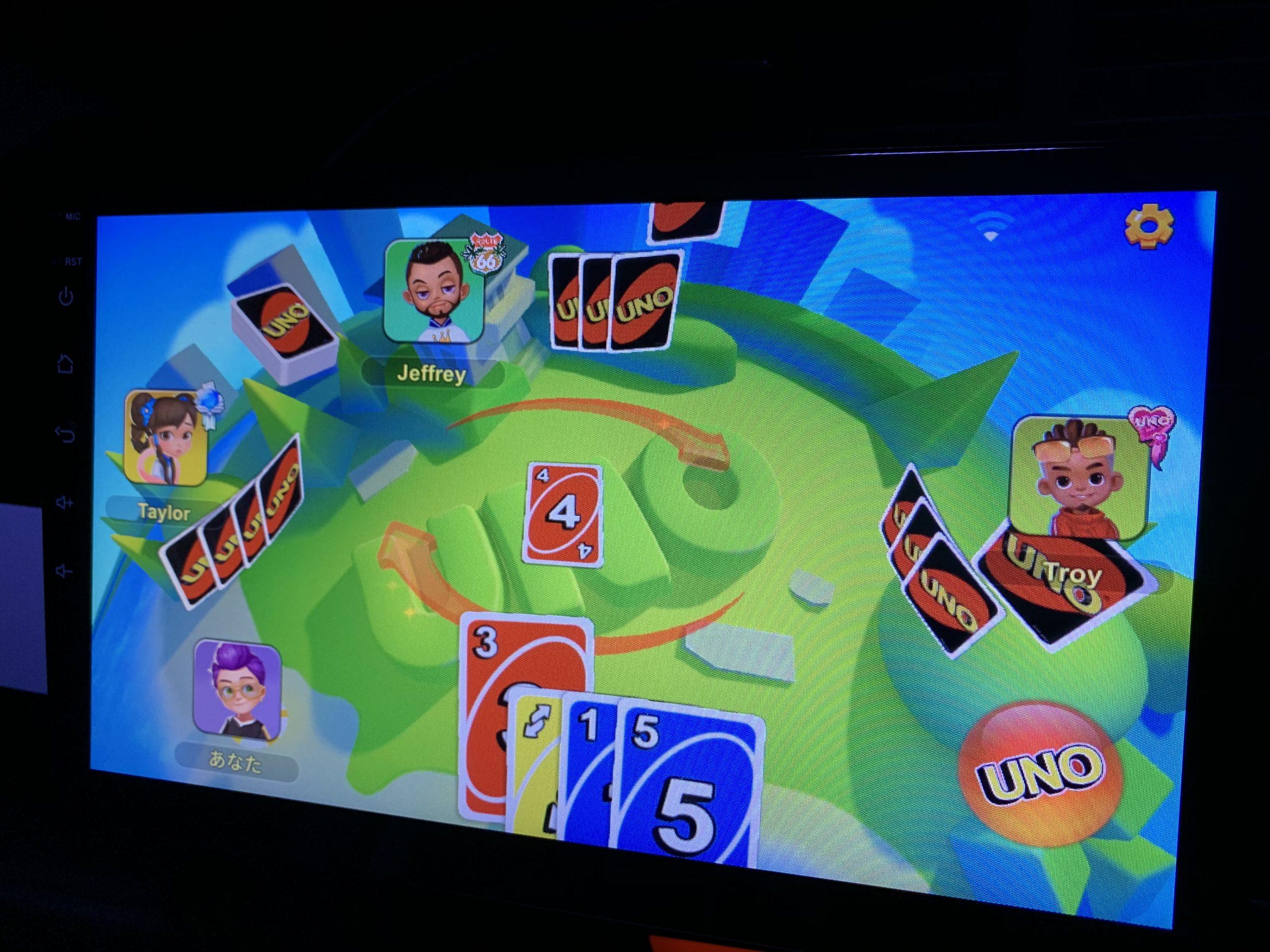 ゲームアプリ UNOで遊ぶ