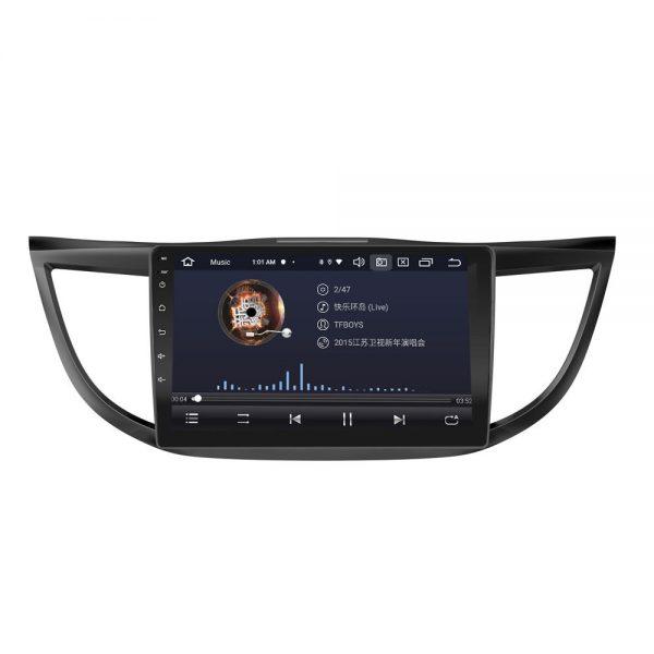 CR-Vアンドロイドナビオーディオ画面
