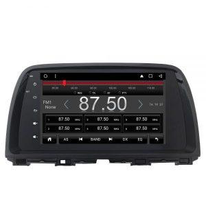 CX-5テスラスタイルナビ ラジオ画面