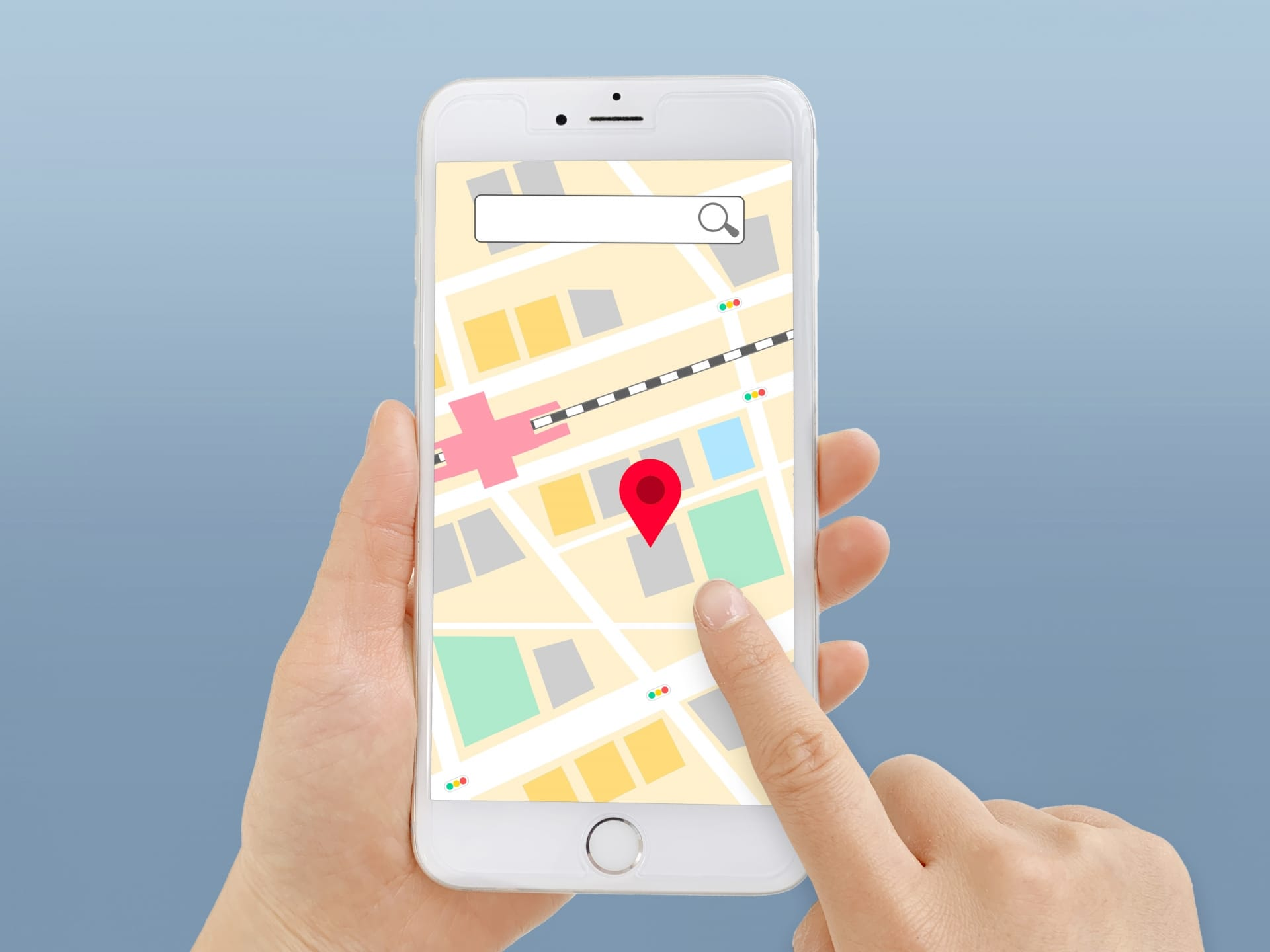 地図アプリ