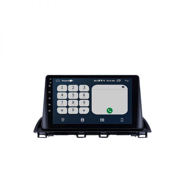 アクセラ2016 アンドロイドナビ Bluetooth画面