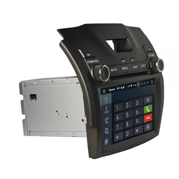 S-10 D-MAX テスラナビ側面 Bluetooth画面