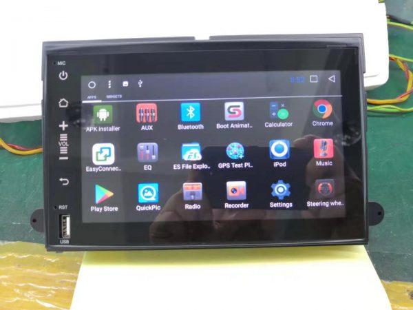 エコノライン E-150 テスラスタイルナビ アプリ画面