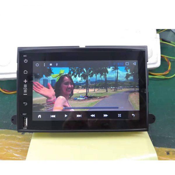 エコノライン E-150 テスラスタイルナビ 動画再生画面