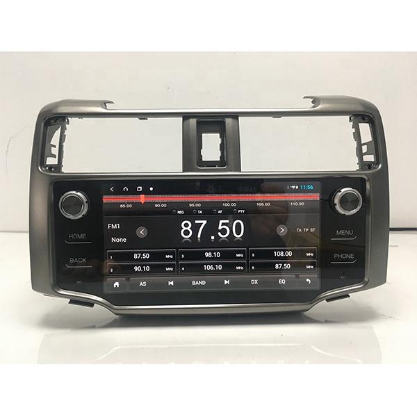 4ランナー ラジオ画面